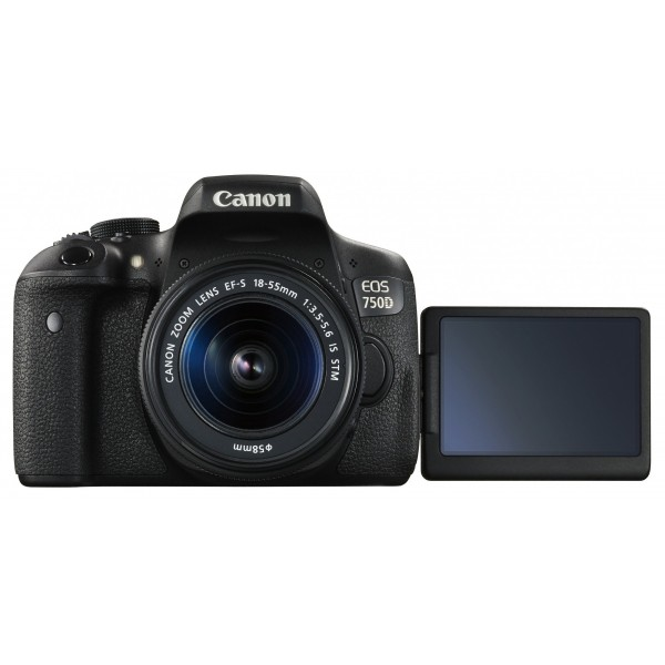 Canon EOS 750D with 18-55mm Lense