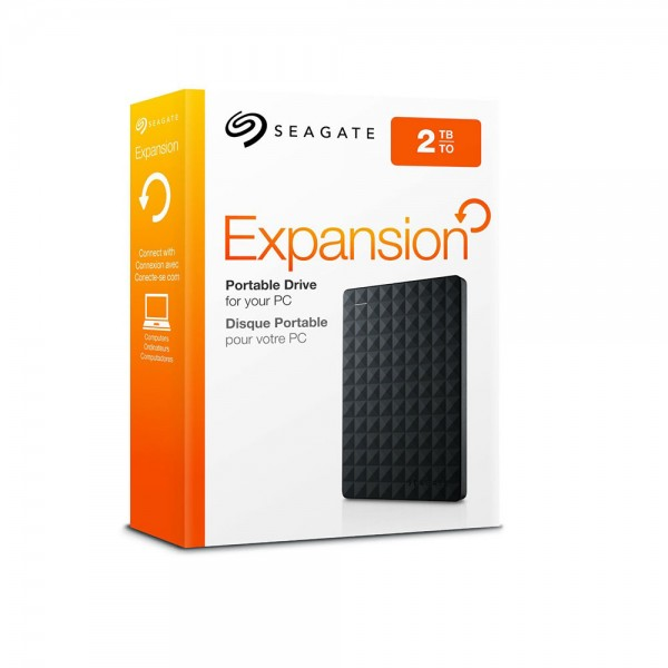 Seagate Expansion 2 TB External  Portable Storage  Drive