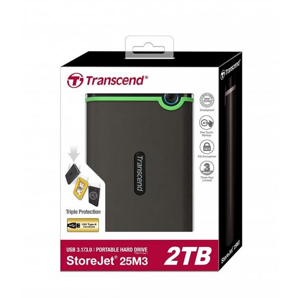 Transcend 2 TB Shockproof External Hard Drives