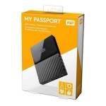 WD My Passport 1 TB  Auto Backup & Password Protection Portable Storage External Drive