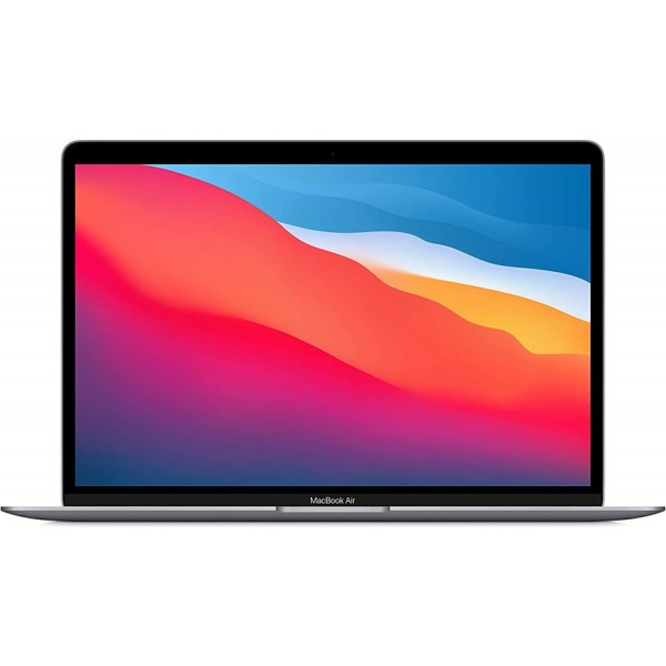 """Apple MacBook Air 13"""" MGN63 - Apple M1 Chip 08GB RAM , 256GB SSD ,13.3"""" Retina IPS LED Display With True Tone Backlit Magic Keyboard & Touch ID & Force Touch TrackPad (Space Grey, Late 2020)"""