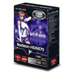 SAPPHIRE Radeon HD 6670 1GB 128-bit DDR5