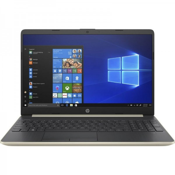 """HP 15-DW1008CA - Core i5 , 10th Generation , 08GB RAM DDR4 , 1-TB HDD 15.6"""" HD 720p Touchscreen Display , FINGER PRINT READER , WIN10 (Natural Silver)"""