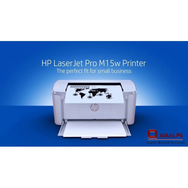 HP LaserJet Pro M15w Printer Easy Mobile Print with app