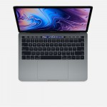 "Apple Macbook Pro MUHP2 With Touch Bar & Touch ID - 8th Gen Ci5 QuadCore 1.4GHz 08GB 256GB SSD 13.3"" Retina IPS LED Display Mac OS High Sierra (Space Gray - 2019)"
