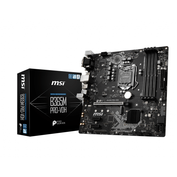 MSI Intel B365M PRO-VDH