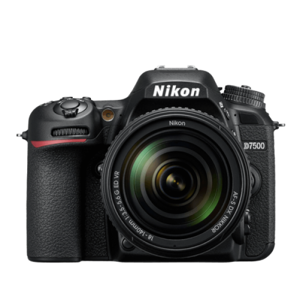 NIKON D7500 KIT WITH 18-140MM KIT LENS